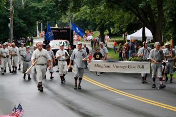 Hingham Vintage Baseball Players Procession